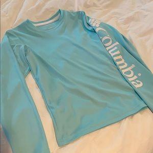 Boys Columbia long sleeve fishing shirt